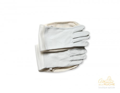Comfortable gloves for beekeepers